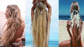 Plajda kullanabileceğiniz 2019 saç modelleri