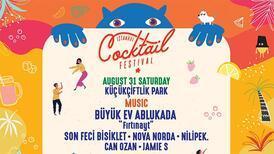 Kokteyllerin renkli dünyası 31 Ağustos'ta KüçükÇiftlik Park'ta