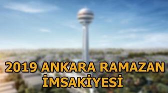6 Mayıs Ankara iftar vakti! Ankara'da iftar saat kaçta? 2019 Ankara Ramazan imsakiyesi
