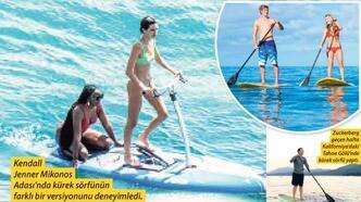 Su sporlarının gözdesi: Kürek sörfü
