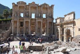 Efes Antik Kenti'ne büyük ilgi
