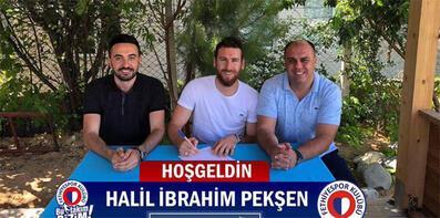 Fethiyespor'da Halil İbrahim Pekşen tamam