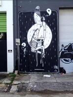 Bu da 'romantik' sokak sanatı