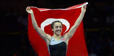 Bediha Gün, bronz madalya kazandı