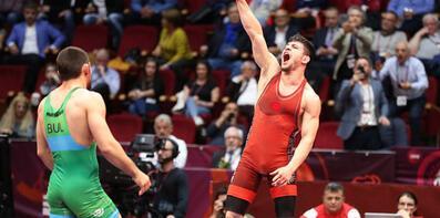 Cengiz Arslan gümüş madalya kazandı