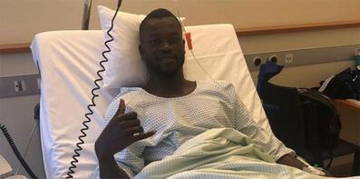Konyasporlu Diagne ameliyat oldu