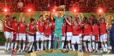 Bayern Münih finalde gol yağdırdı!