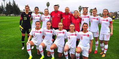 A Milli Kadın Futbol Takımı, Moldova ile karşılaşacak