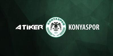 Konyasporun Atikerle sponsorluk sözleşmesi sona erdi