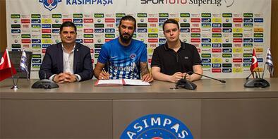 Kasımpaşa, Fatih Öztürk ile sözleşme imzaladı