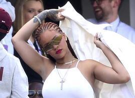 Rihanna bu kez orada ortaya çıktı!