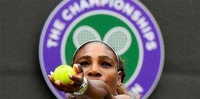 Serena Williams'a 10 bin dolarlık 'kort' cezası