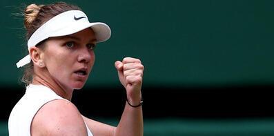 Wimbledon'da Halep finale çıktı