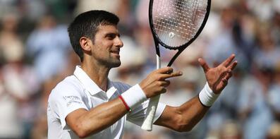 Wimbledon'da ilk finalist Djokovic