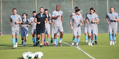 Trabzonsporda yeni sezon hazırlıkları sürüyor