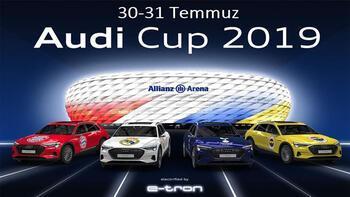 3 büyüklerin hazırlık maçları ve Audi Cup D-Smart'ta