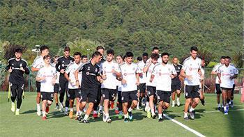 Beşiktaş, taktik ve kondisyon çalıştı