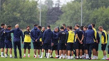 Fenerbahçe ilk çalışmasını gerçekleştirdi