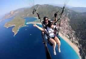 Yamaç paraşütünün kadın pilotları