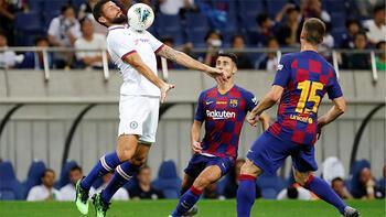 Hazırlık maçı: Chelsea 2-1 Barcelona