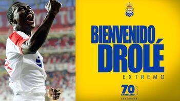 Antalyasporlu Drole, Las Palmasa transfer oldu