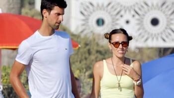 Şampiyon Djokovic ailesiyle tatilde