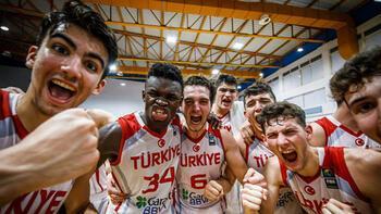 18 Yaş Altı Erkekler Avrupa Basketbol Şampiyonasında Türkiye finalde
