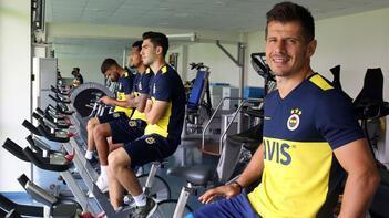 Fenerbahçe salonda çalıştı!