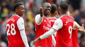 3 gollü maçta kazanan Arsenal! Mesut...