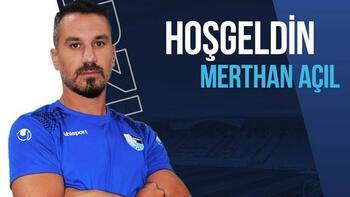 Erzurumspor, Merthan Açıl ile anlaştı