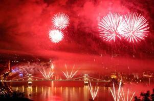 Budapeşte'de görkemli kutlama