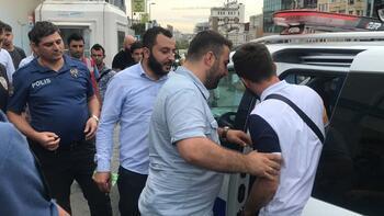 Taksim'i karıştıran kavga!