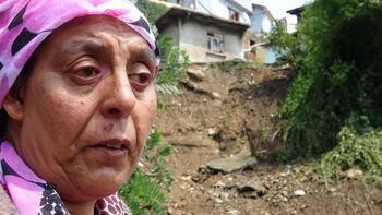 Zonguldak'taki kuvvetli yağış nedeniyle 6 ev kullanılamaz hale geldi