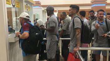 Trabzonspor kafilesi Trabzon'a döndü