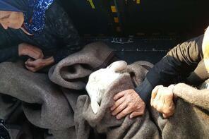 TSK, Terme'de 17 kişiyi kurtardı