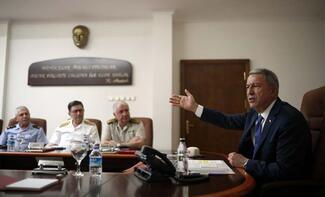 Milli Savunma Bakanı Akar: Birleşik Müşterek Harekat Merkezi faaliyete başladı