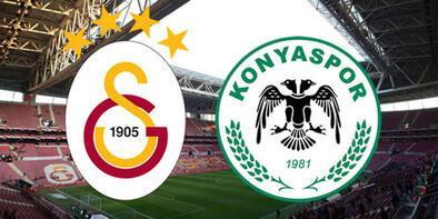 Galatasaray Konyaspor maçı ne zaman saat kaçta hangi kanalda canlı yayınlanacak? İlk 11'ler...