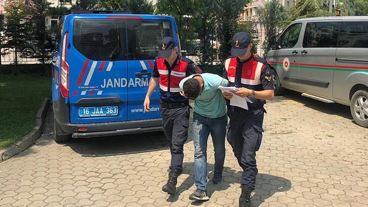 Okul inşaatından 300 bin TL'lik demir çalan kişi tutuklandı