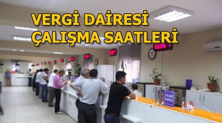 Vergi Dairesi Saat Kacta Aciliyor Ve Kapaniyor 2018 Vergi