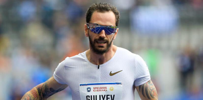 Ramil Guliyev, 200 metrede 1. oldu