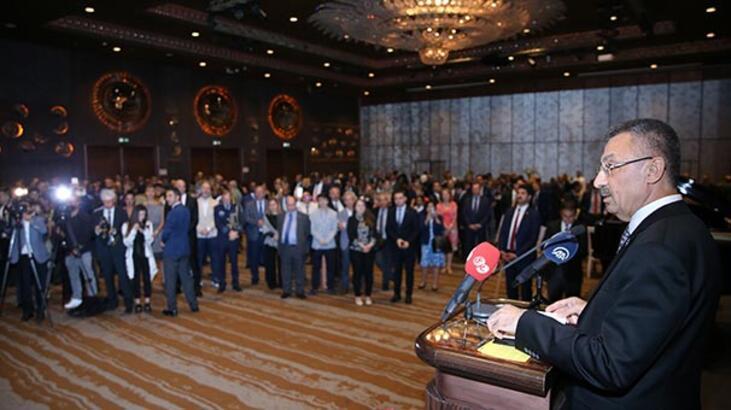 Cumhurbaşkanı Yardımcısı Oktay Makedonya Milli Günü Resepsiyonu'na katıldı