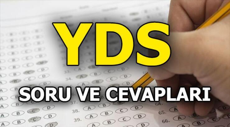 ÖSYM açıkladı: İşte YDS soru ve cevapları! 2018 Sonbahar Yabancı Dil Sınavı