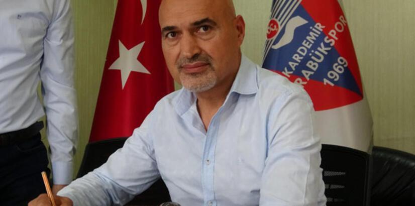 Karabükspor'un yeni teknik direktörü Levent Açıkgöz oldu