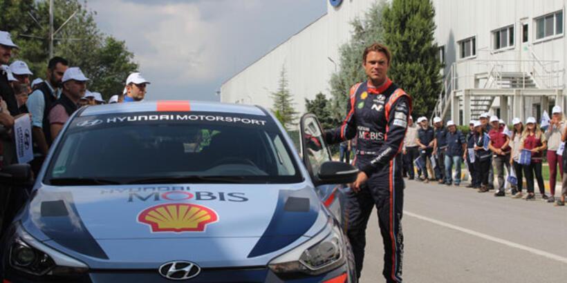 Andreas Mikkelsen Kocaeli'de