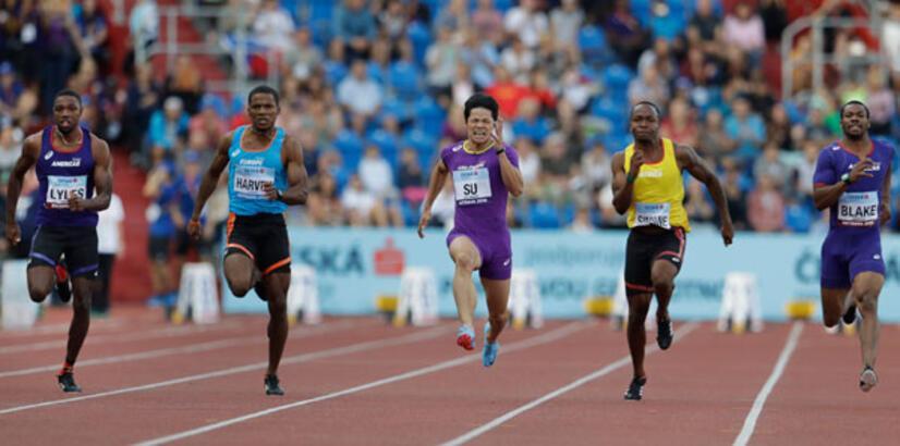 Jak Ali Harvey, 100 metrede 4. oldu!