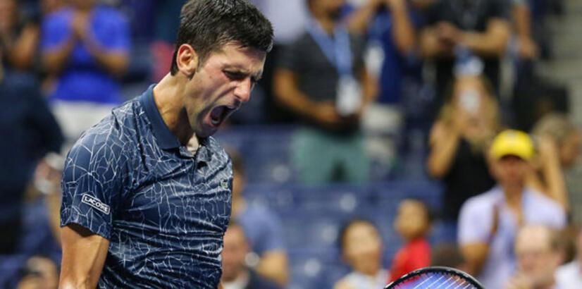 Djokovic yarı finalde!