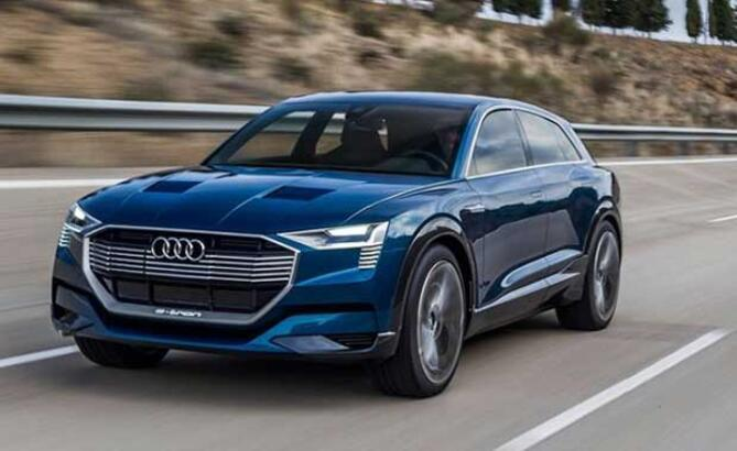Audi, ilk elektrikli SUV modeli E-Tron'un üretimine başladı