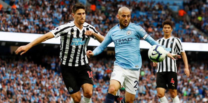 Manchester City-Newcastle: 2-1