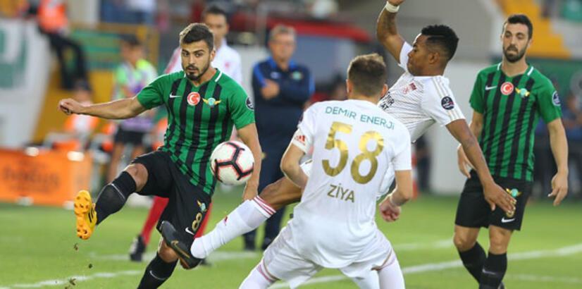 Akhisarspor - Demir Grup Sivasspor: 1-1