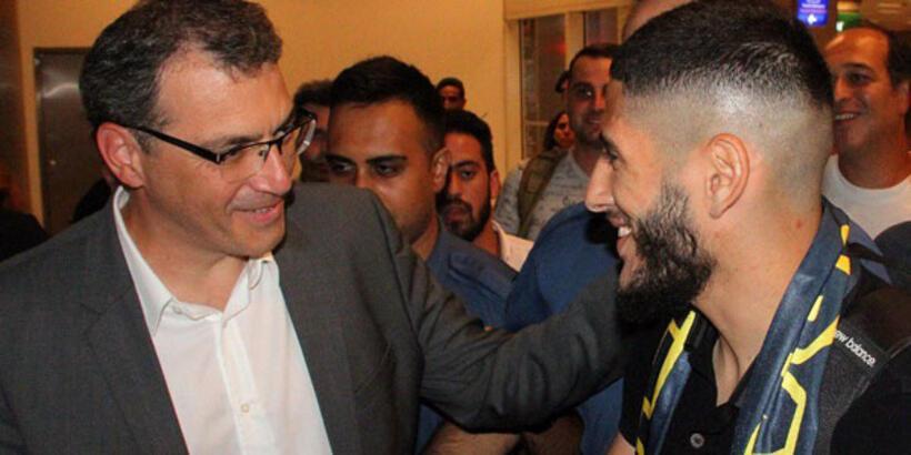 Yassine Benzia İstanbul'a geldi! Anlaşma tamam...